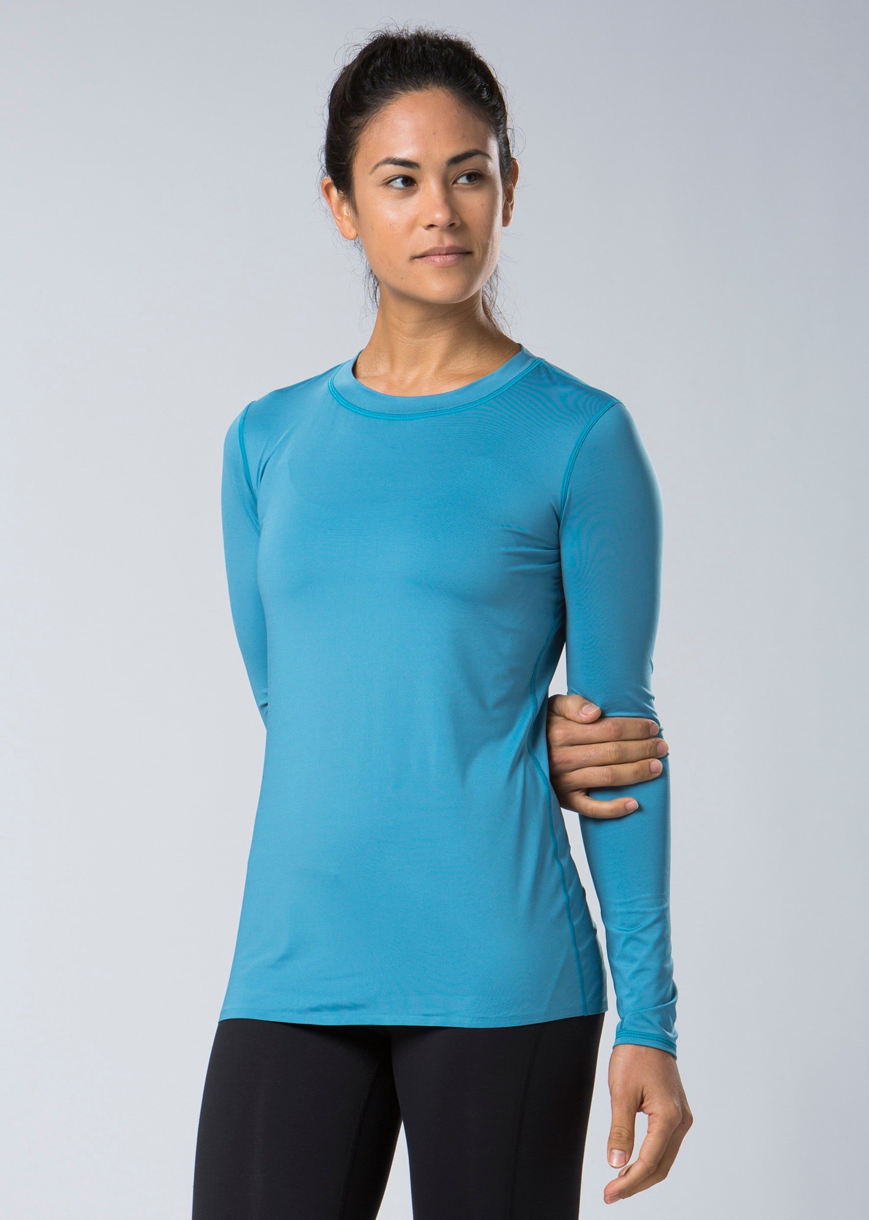 Via Long Sleeve Top - Sage