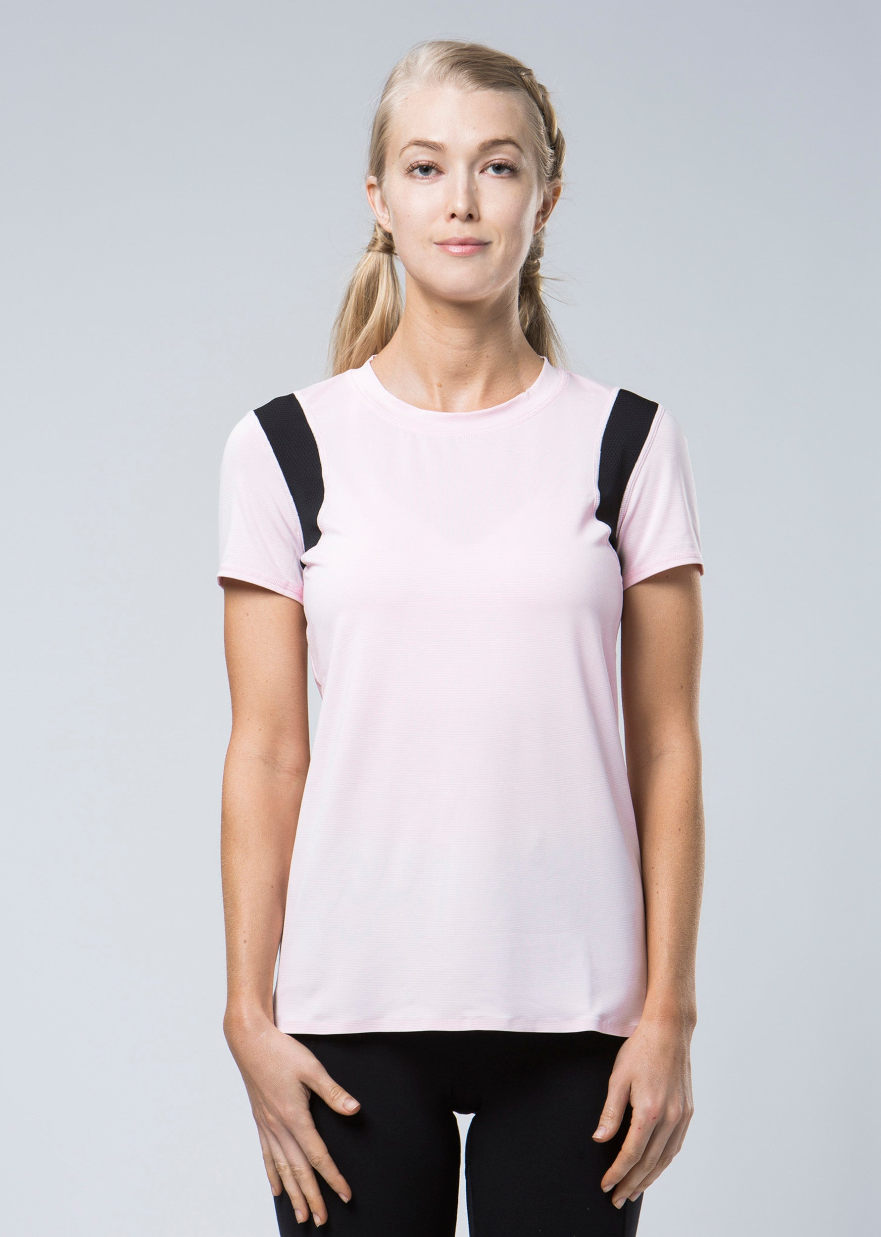 Infinity Technical Tee - Blush