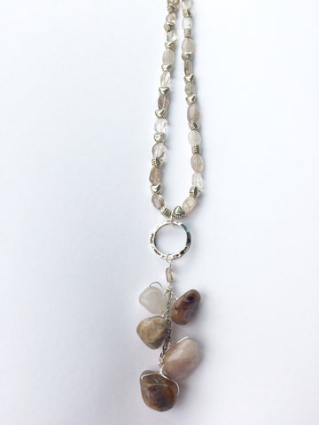 Earthy Agate Necklace