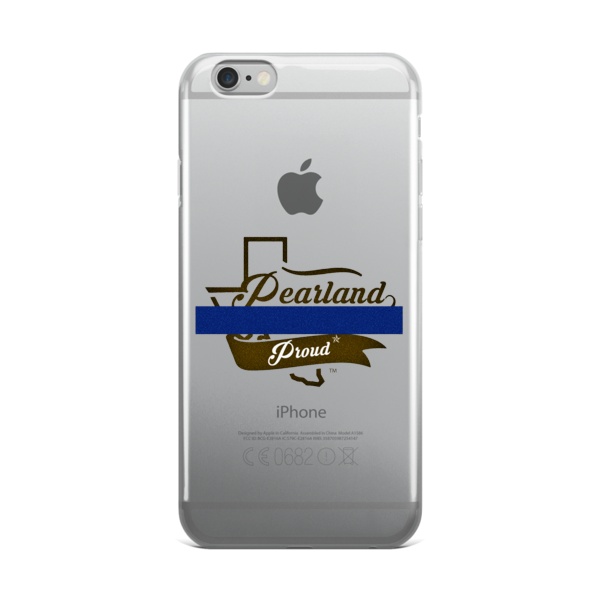 We Support the Blue iPhone case