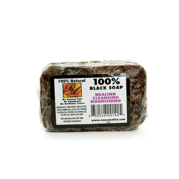 100% Natural Black Soap: 5 oz