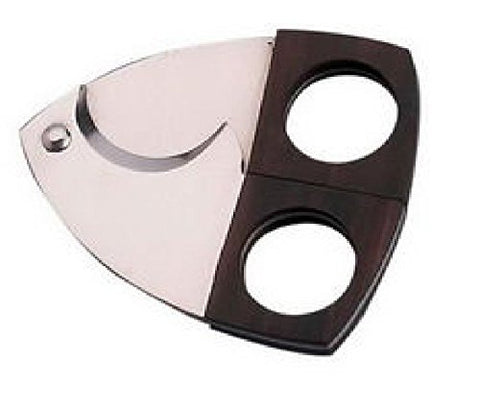 Small Scissor Cigar Cutter - Stainless Steel And Mahogany