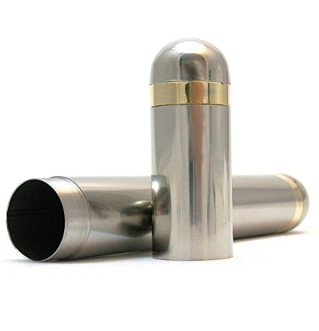 Stainless Steel Cigar Tube - Single, Double & Triple