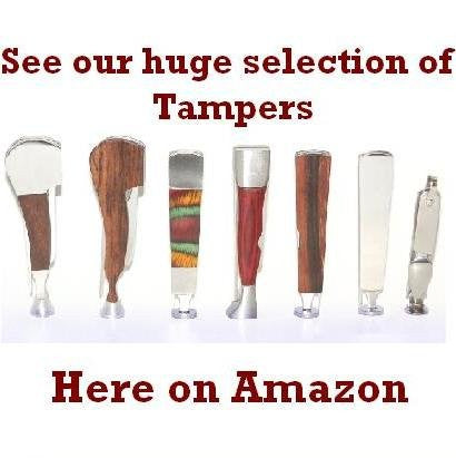 Luxury Style Tamper, Reamer & Pick 3-in-1 Tool - Oak Wood & Stainless Steel