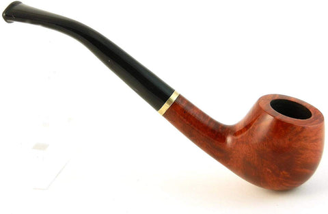 No. 129 Atu Mediterranean Briar Wood Tobacco Pipe