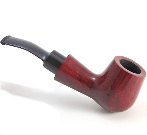 No. 89 Standup Mediterranean Briar Wood Tobacco Pipe