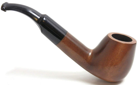 Mr. Brog Full Bent Tobacco Pipe - Model No: 27 Big Horn Walnut - Pear Wood Roots - Hand Made