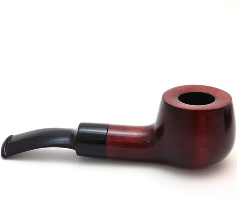 No. 53 Heavy Pear Wood Tobacco Pipe