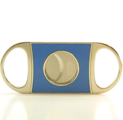 Mr. Brog Carbon Fiber Cigar Cutter - Gold
