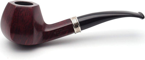 No. 120 Franklin Mediterranean Briar Wood Tobacco Pipe