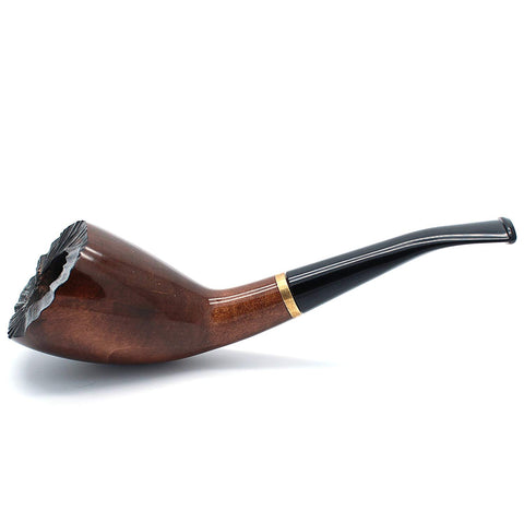No. 310 Indigo Pear Wood Tobacco Pipe