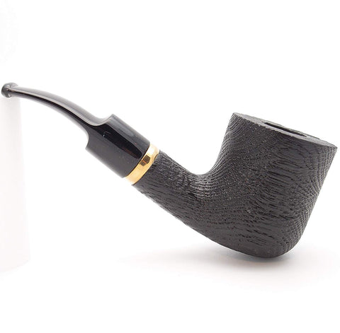 Mr. Brog Billiard Tobacco Pipe - Model No: 112 Morta Bent - Morta Wood - Hand Made