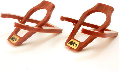 Portable Single Pipe Acrylic Tobacco Pipe Stand - Double Pack