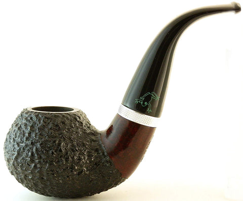 Mr. Brog Full Bent Tobacco Pipe - Model No: 100 Frog - Mediterranean Briar Wood - Hand Made