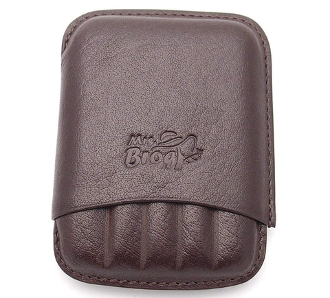 Corona Full Grade Buffalo Hide Leather Cigar Holder