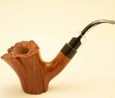 Freehand Log Style Wincent Briar Tobacco Pipe