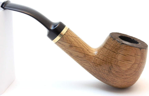 No. 28 Vinewood Oak Wood Tobacco Pipe