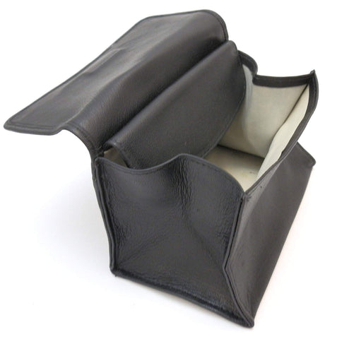 Full Grain Leather Tobacco Pouch with Rubber Lining - (Multiple Colors)