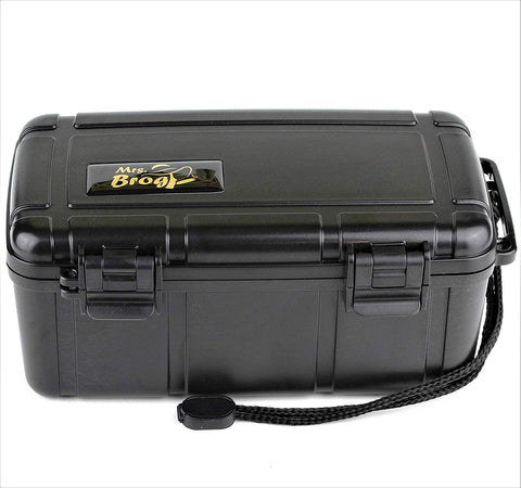 Mrs. Brog Waterproof Travel Cigar Humidor Case