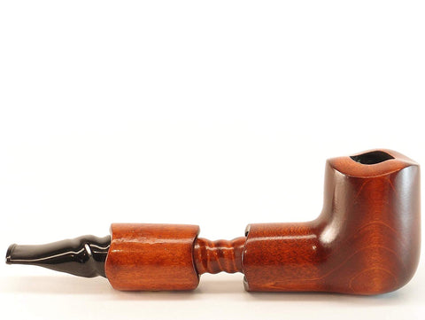 Mr. Brog Canadian Tobacco Pipe - Model No: 304 Golway - Pear Wood Roots - Hand Made
