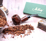 Mr. Brog Handmade Tobbaco Smoking Pipe - Model No. 63 Zurek Walnut - Pear Wood Roots
