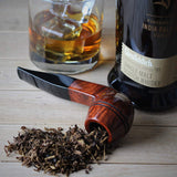 Handmade Tobacco Smoking Pipe - Model No. 171 Royal - Mediterranean Briar Wood