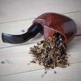 No. 172 U.S. Pocket Mediterranean Briar Wood Tobacco Pipe