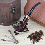 No. 25 Kaiser Pear Wood Pipe with Accessories Kit
