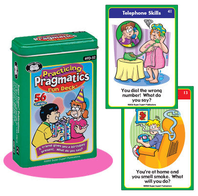 Practicing Pragmatics  Fun Deck®