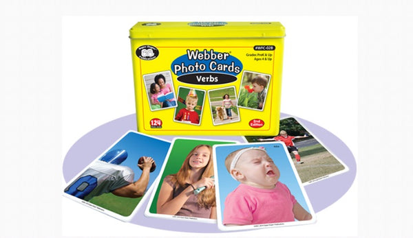 Webber® Photo Cards – Verbs  2nd Edition