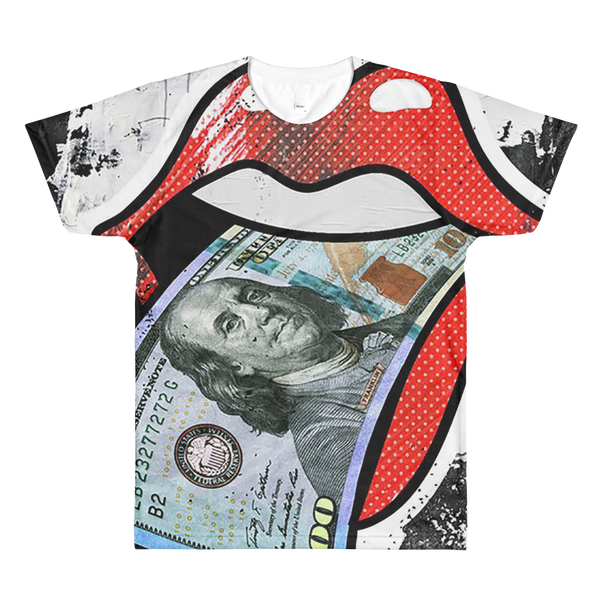 F.B.G.M. (Fuck Bitches Get Money) Sublimation men's crewneck t-shirt