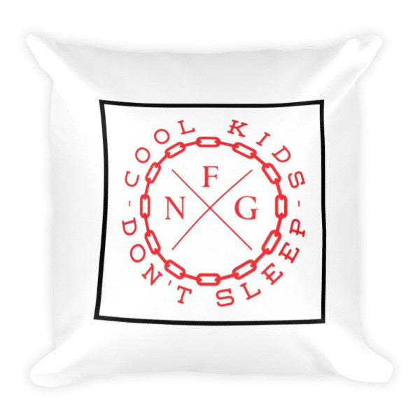 Cool Kids Don't Sleep Pillow