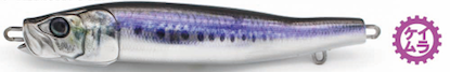 Little Jack Metal Addict Type 04 jig 100g  - #06 Keimura UV Ocean