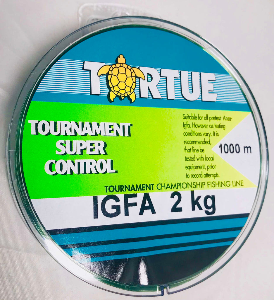 AG018 - Tortue Super Control IGFA 1000m 2kg Fishing Line