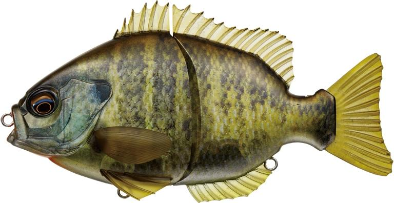 Ever Green Breamslide 15cm - Natural Bream 632