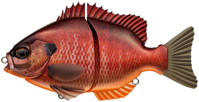 Ever Green Breamslide 15cm - Pre Spawn Bream 641