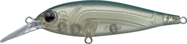 Ever Green Bank Shad Mid 6.0cm #247