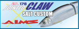 Gan Craft Jointed Claw 178S Salt Water Custom - AS08 Clear Bora