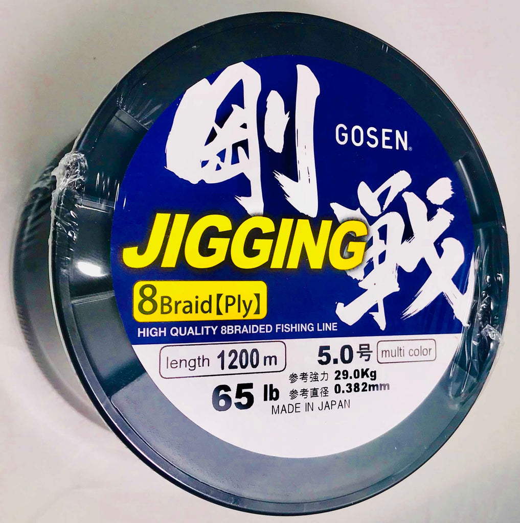 J600540 - GOSEN Jigging Braid 8 ply PE 4 600m