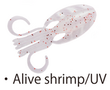 "Bait Breath Slow Swimmer 3.5"" - Alive Shrimp UV"