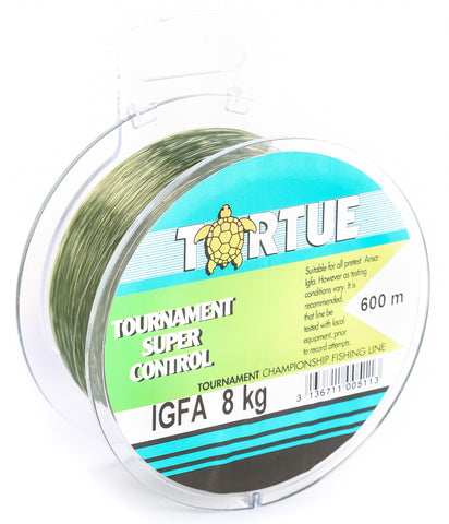 Tortue Super Control IGFA 600m 8kg Fishing Line