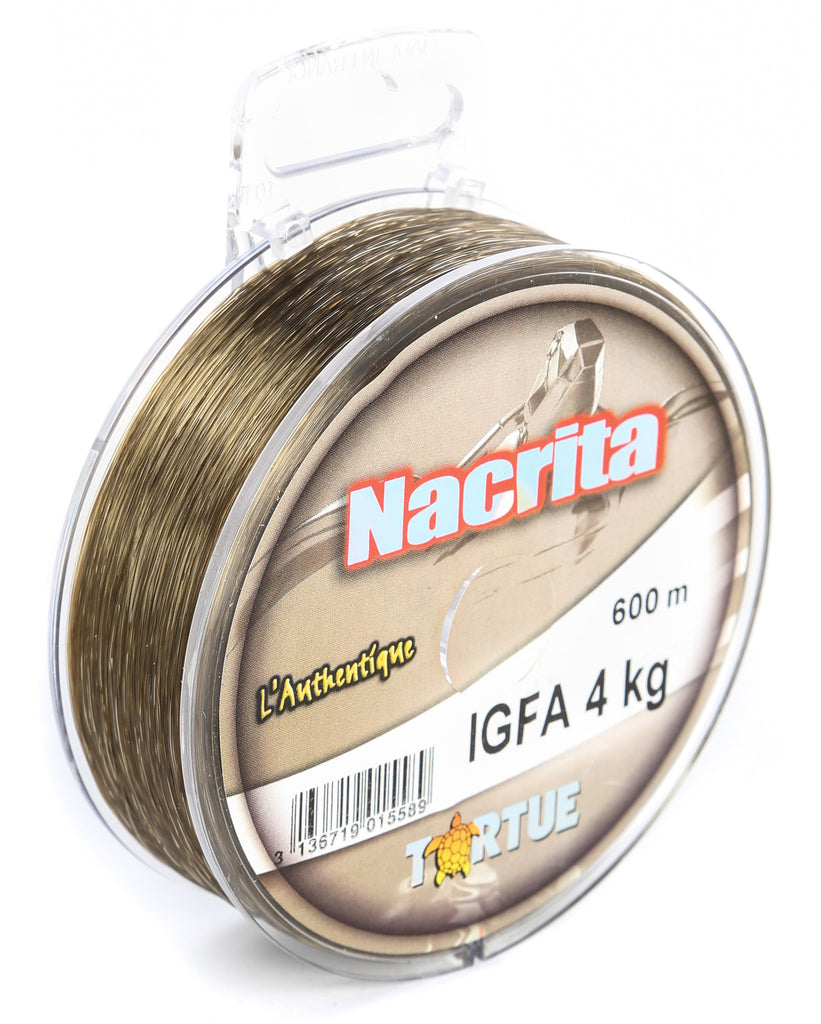 NB24 - Tortue Nacrita IGFA 600m 4kg Fishing Line
