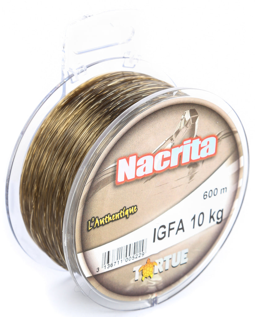NB40 - Tortue Nacrita IGFA 600m 10kg Fishing Line
