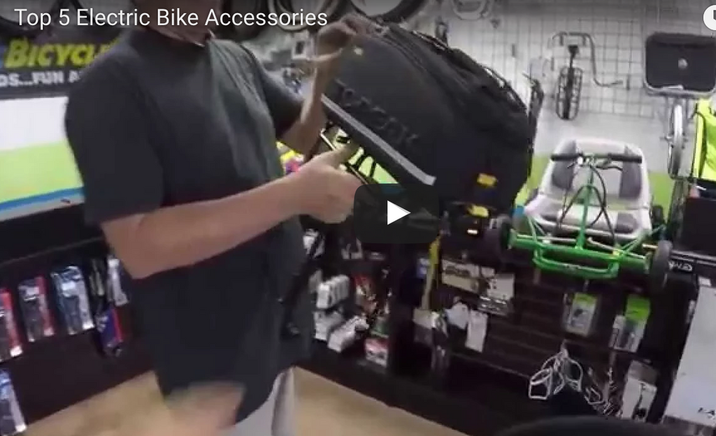 We Recommend These Electric Bike Accessories