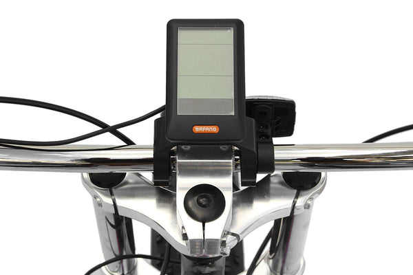 Micargi Cyclone Electric Fat Tire Beach Cruiser Bike LCD Screen