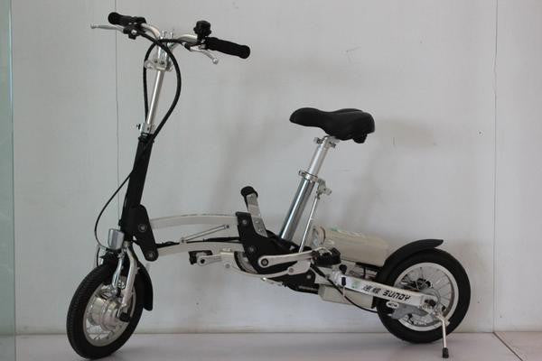 Cycle Force e-Mazing Innovations B.O.B. 12 Inch Folding Electric Bike