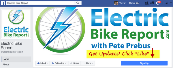 https://www.facebook.com/ElectricBikeReport/