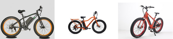 ELECTRIC FAT TIRE BIKES