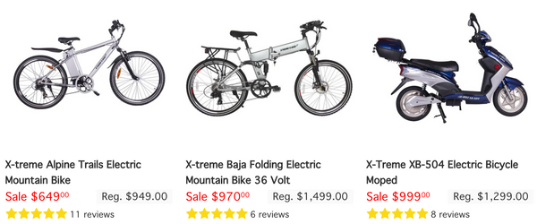 BEST ELECTRIC BIKES UNDER $1,000