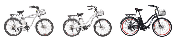 electric beach cruiser bikes